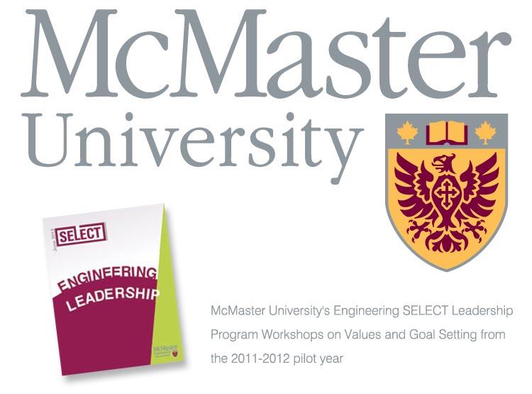 Jim Ribau - Coaching Testimonial - McMaster University SELECT Enigneering Leadership Program