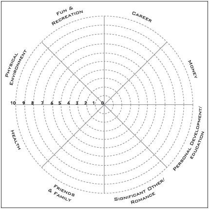 Jim Ribau - Free Coaching Tools - Wheel of Life Exercise
