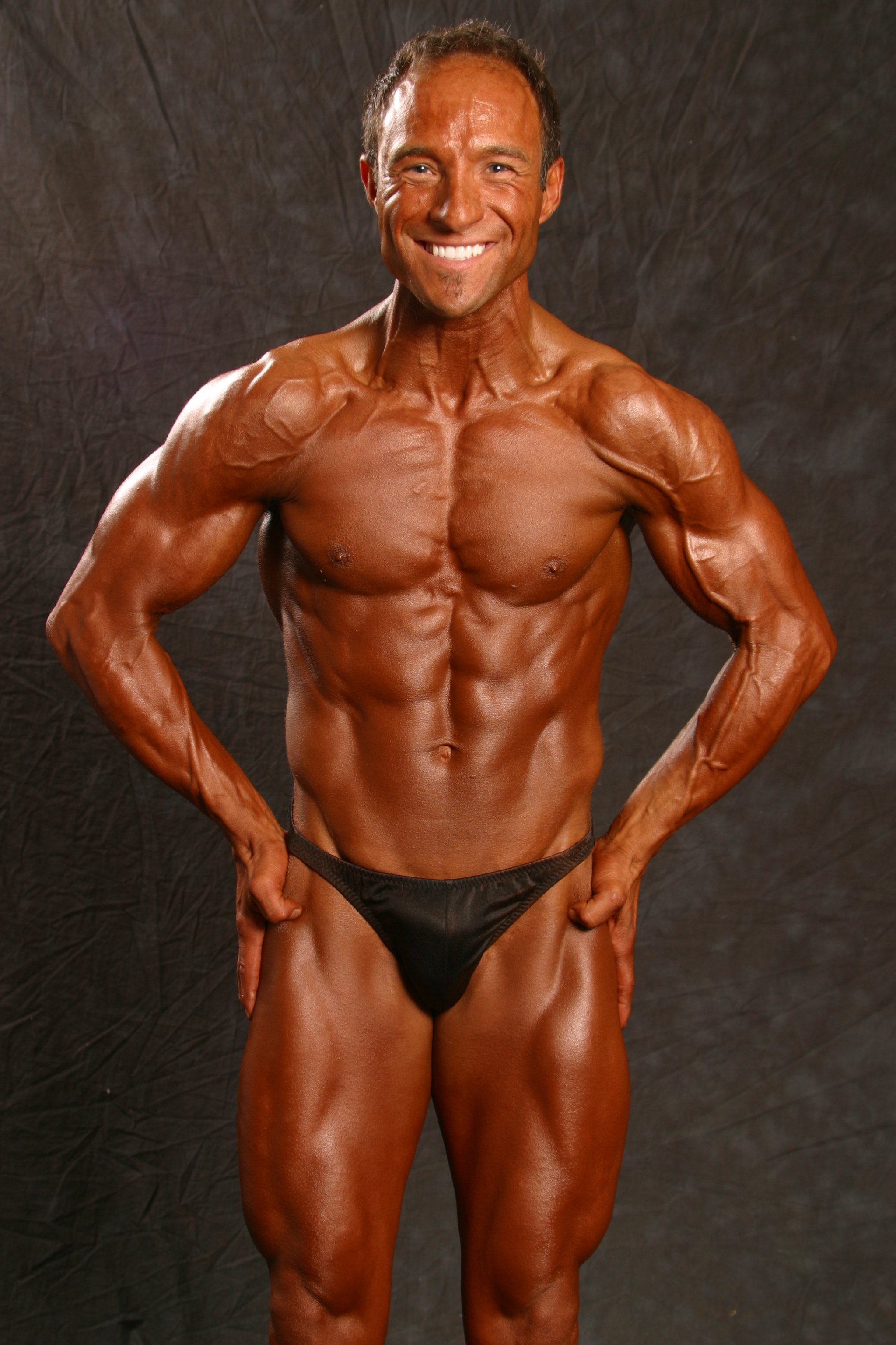 Jim Ribau - Bodybuilding - 2007 06 23 - 11 - Most Muscular pose